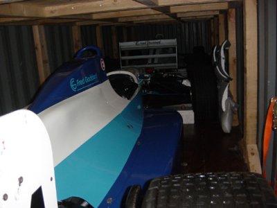 Formula 3000 Racing Cars.